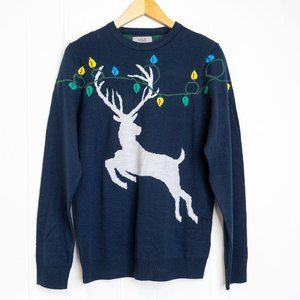 M & S Collection Reindeer Sweater, UK/EU Small